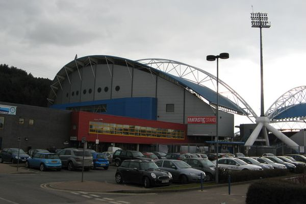 The John Smith's Stadium - where Huddersfield beat Manchester United 2-1 and caused all these jokes, tweets and facts