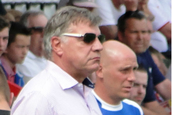 Sam Allardyce is in talks with Everton