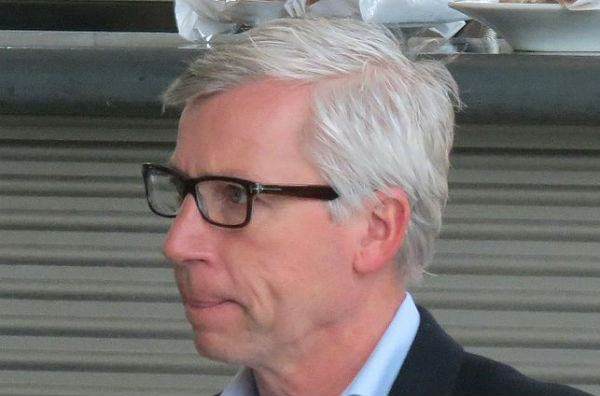 West Brom manager Alan Pardew