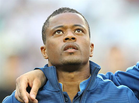 Patrice Evra is set to join West Ham United