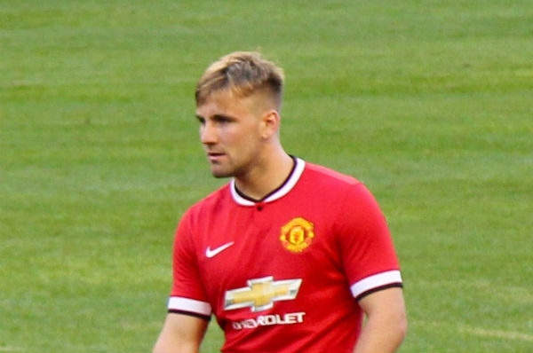 Luke Shaw will soon leave Manchester United
