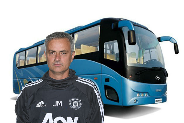 José Mourinho and bus