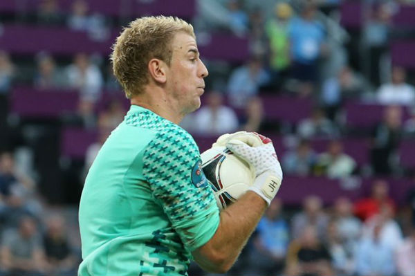 Joe Hart is not in England's World Cup squad