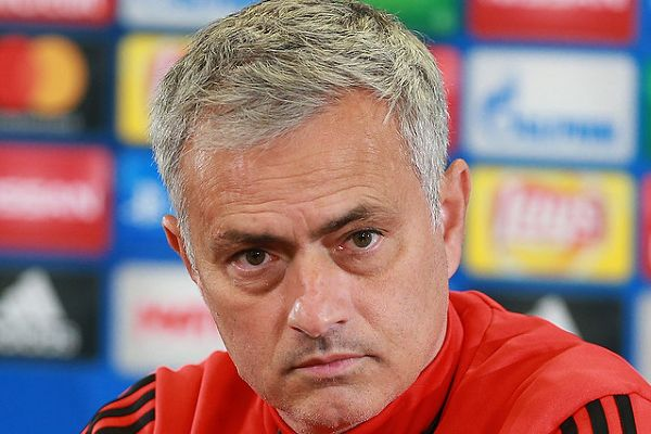 José Mourinho didn't want to start the season with jokes after Manchester United lost 3-2 at Brighton