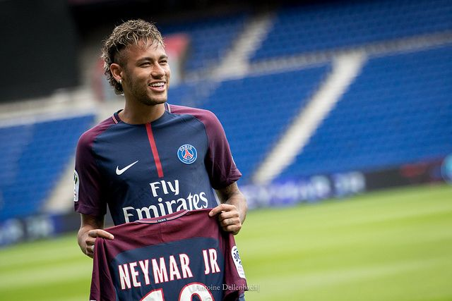 There were lots of jokes as Neymar starred in PSG 2-1 Liverpool in the Champions League