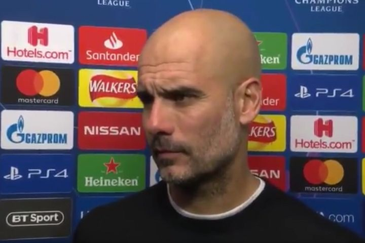 Pep Guardiola after Manchester City are knocked out of the Champions League at the quarter-final stage by Spurs, with help from VAR, and there were many funny tweets and jokes