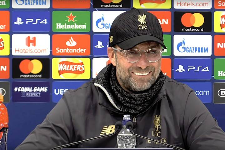 Jürgen Klopp can revel in the funny tweets and jokes as Liverpool beat Barcelona 4-0 in a Champions League semi-final