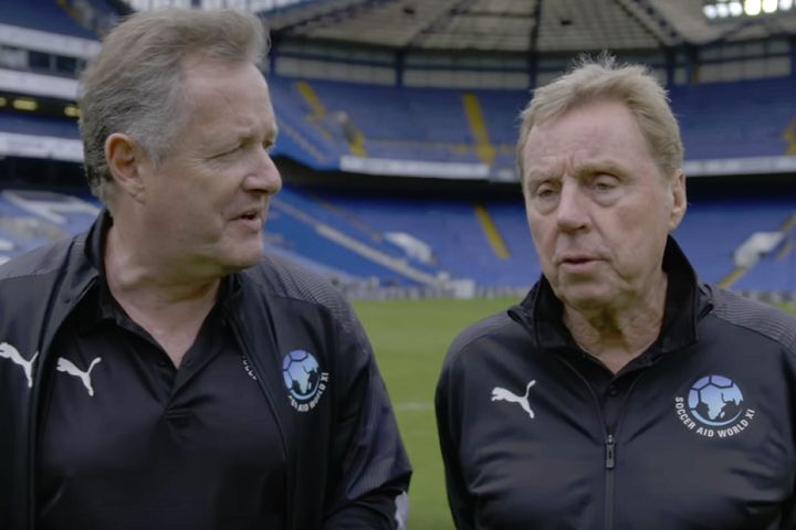 Winners Piers Morgan and Harry Redknapp can enjoy the funny tweets and jokes from Soccer Aid 2019