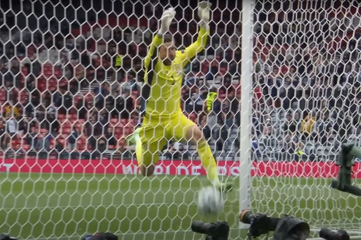 There were David Marshall jokes, memes and tweets after the Scotland goalkeeper was lobbed by Patrik Schick in a 0-2 defeat to Czech Republic at Euro 2020