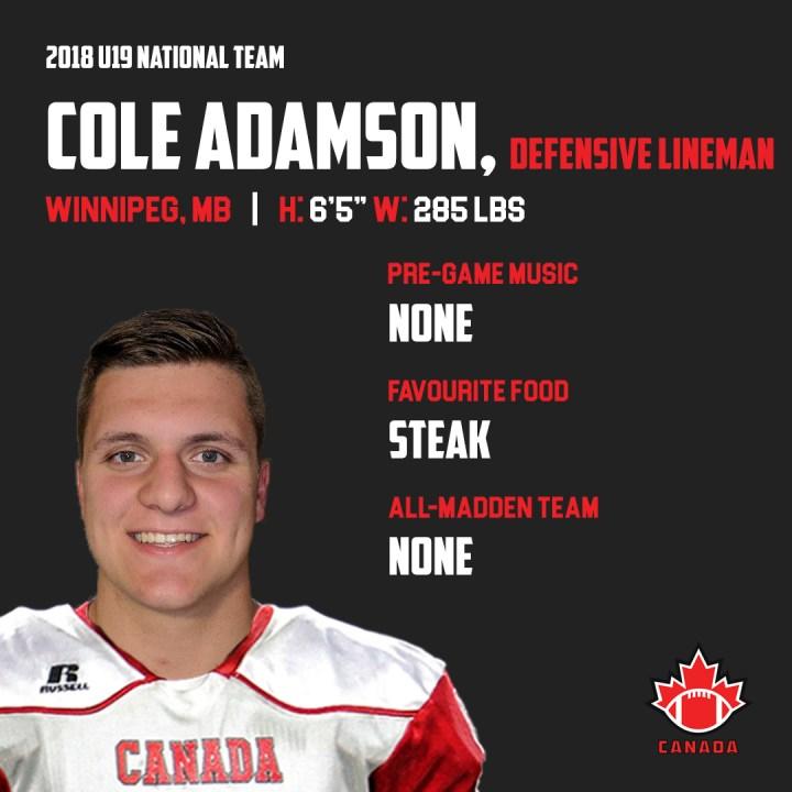 Cole Adamson