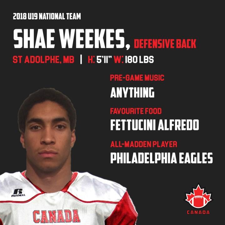 Shae Weekes