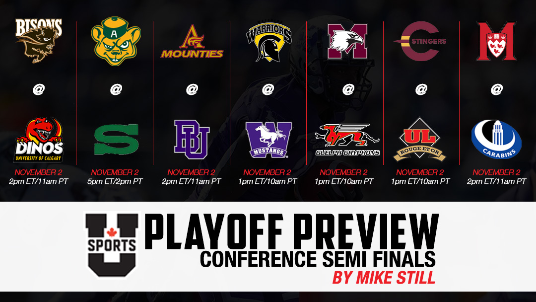 U SPORTS Playoff Preview : Conference Semi-Finals