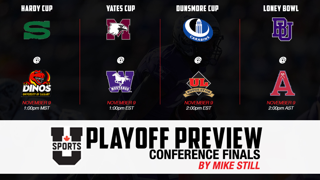 U SPORTS PLAYOFF PREVIEW : CONFERENCE CHAMPIONSHIPS