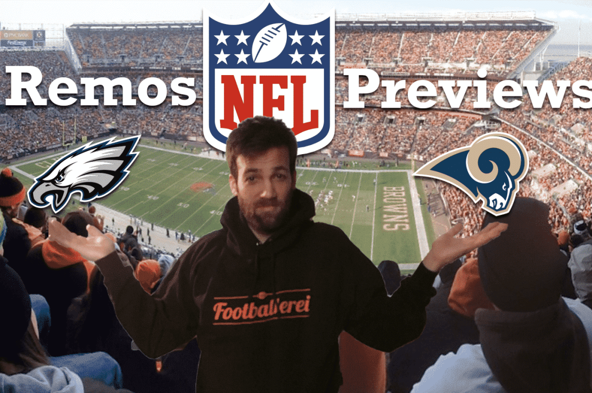 Remos NFL Week 14 Preview: Eagles-Rams, Seahawks - Jaguars