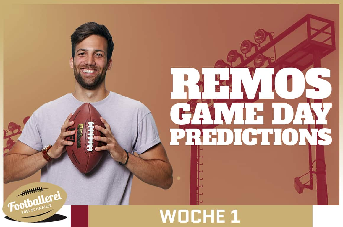 Remos Game Day Predictions – Week 1