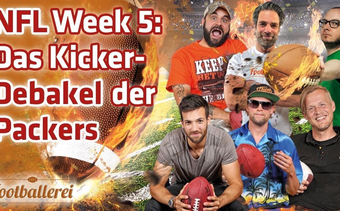 NFL Week 5: Das Kicker-Debakel der Packers