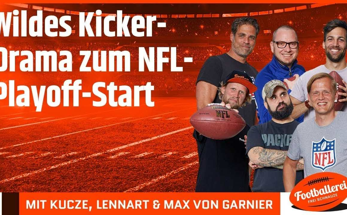 Wildes Kicker-Drama zum NFL-Playoff-Start