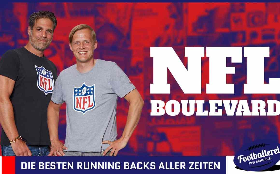 NFL Boulevard #55: Die besten Running Backs aller Zeiten