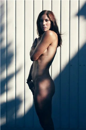 Hope Solo in ESPN The Magazine Body Issue 2011