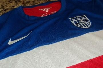 USA 2014 2015 World Cup Away Soccer Jersey, Football Kit, Shirt, Camiseta