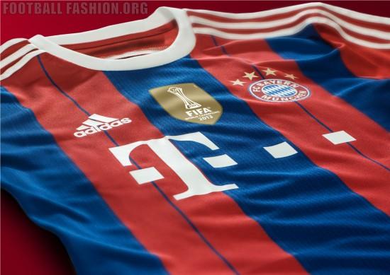 FC Bayern Munich 2014 2015 Home Football Kit, Soccer Jersey, Bayern Munchen Trikot
