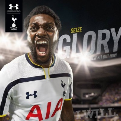 Tottenham Hotspur Football Club 2014 2015 Under Armour Home and Away Kit, Soccer Jersey