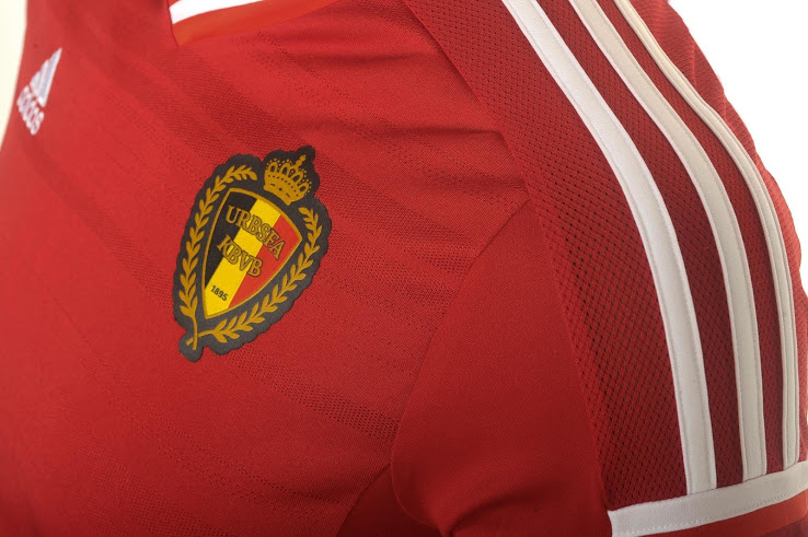 bf44c7f3c Belgium Signs with adidas. 2014/16 Kits Unveiled. - FOOTBALL FASHION.ORG