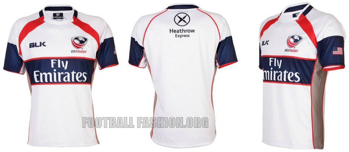 0280a9e6af6 USA Rugby 2014 15 BLK Home and Away Jerseys - FOOTBALL FASHION.ORG