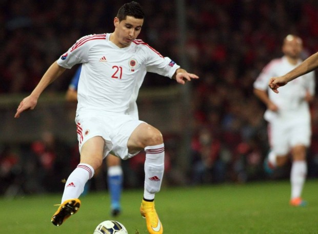 Albania 2014 2015 adidas Home and Away, Shqiptare Loje