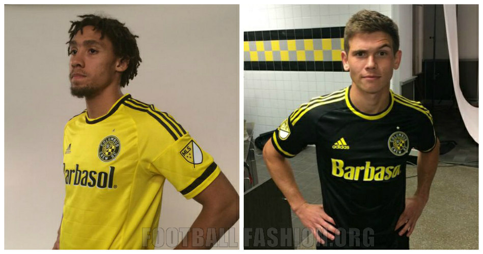36f6818f5c9 Columbus Crew SC 2015 adidas Home and Away Jerseys - FOOTBALL ...