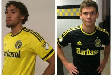 Columbus Crew SC 2015 adidas Home and Away Soccer Jersey, Camiseta de Futbol, Kit, Shirt