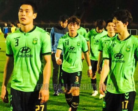 Jeonbuk Hyundai Motors 2015 hummel Home and Away Football Kit, Soccer Jersey, Shirt