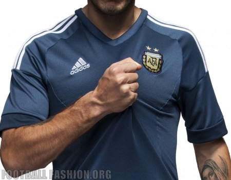 Argentina Copa America 2015 2016 adidas Soccer Jersey, Football Kit, Shirt, Camiseta de Futbol, Playera, Equipacion