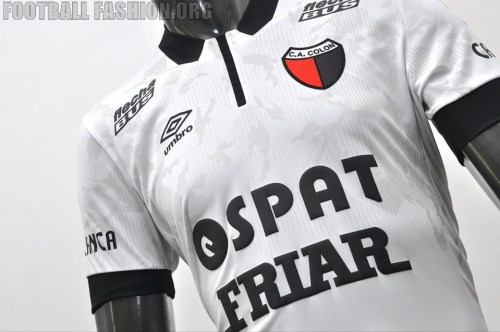 Colon de Santa Fe 2015 Umbro Away Soccer Jersey, Football Kit, Shirt, Camiseta de Futbol