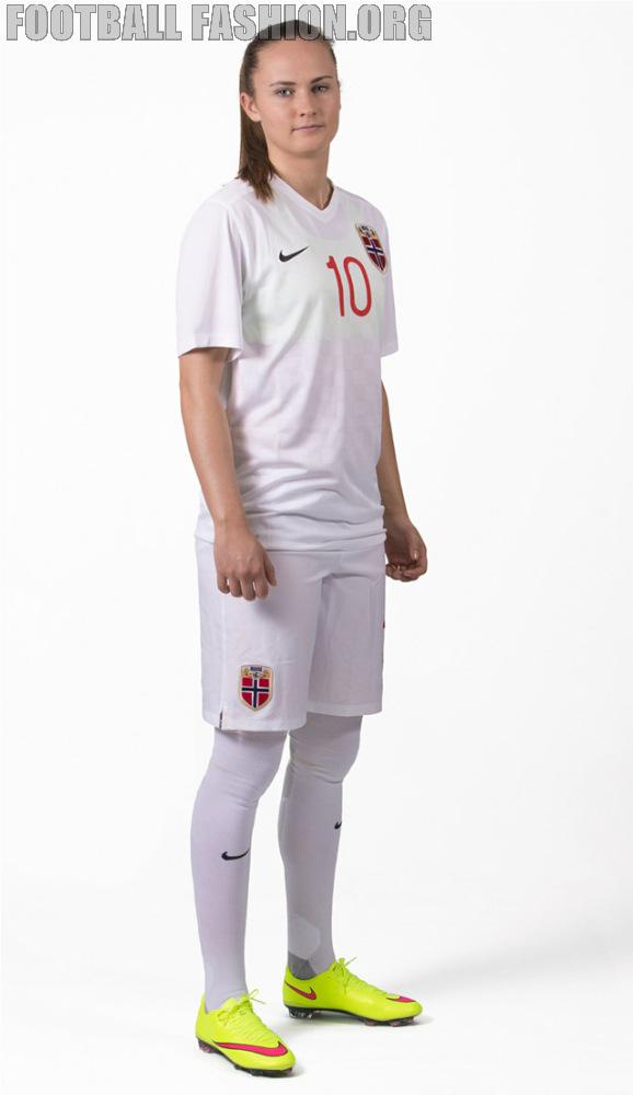 Norway 2015 16 Nike Home and Away Kits – FOOTBALL FASHION.ORG febcc7b1a