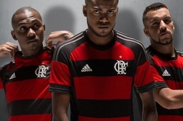 CR Flamengo 2015 adidas Home Football Kit, Soccer Jersey, Shirt, Camisa do Futebol