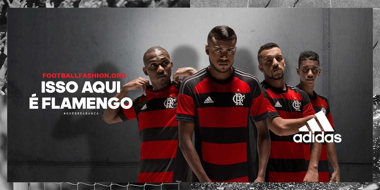 best sneakers fab4a 21607 CR Flamengo 2015 adidas Home Kit - FOOTBALL FASHION.ORG