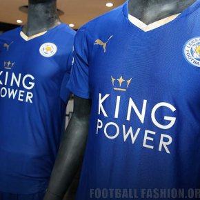 cf08b2602 ... Leicester City FC 2015 2016 PUMA Home Football Kit, Soccer Jersey, Shirt