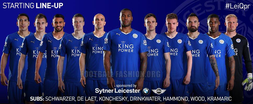Leicester City FC 2015/16 PUMA Home Kit – FOOTBALL FASHION.ORG