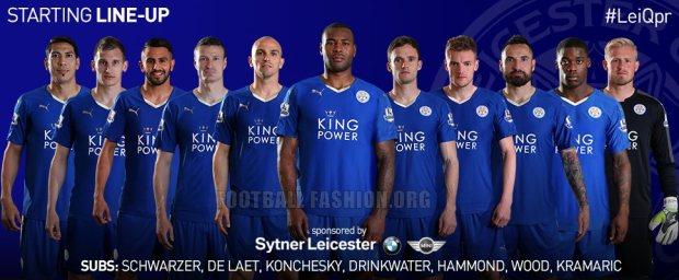 ad53890e2 Leicester City FC 2015 2016 PUMA Home Football Kit, Soccer Jersey, Shirt