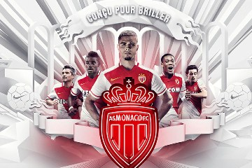 AS Monaco 2015 2016 Nike Home Football KIt, Shirt, Soccer Jersey, Maillot