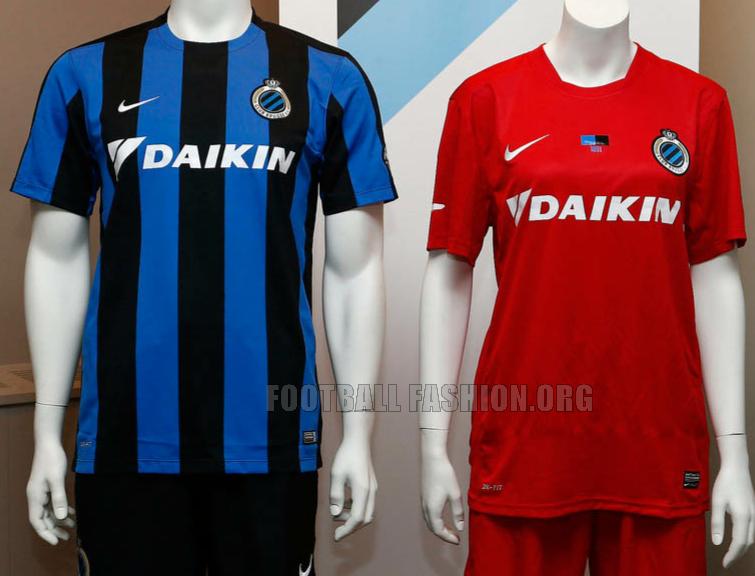 Club Brugge 2015 2016 Nike Home and Away Soccer Jersey, Football Kit, Shirt,