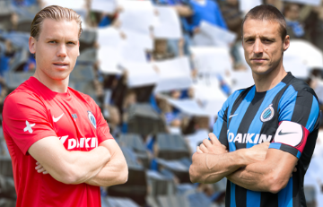 Club Brugge 2015 2016 Nike Home and Away Soccer Jersey, Football Kit, Shirt, Maillot, Tenue