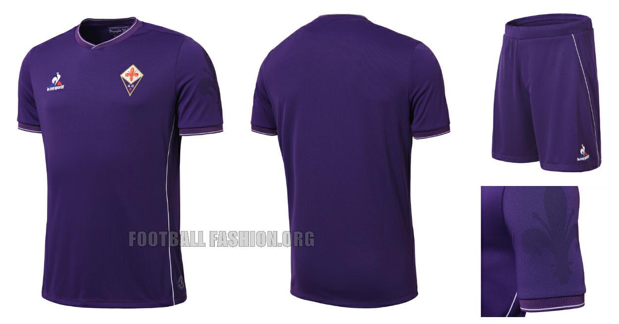 ACF Fiorentina Switch to le coq sportif. Unveil 2015 16 Kits ... 2a72c0c91