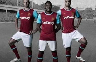 The Boleyn Kit - West Ham United's 2015/16 Umbro Home Football Kit, Shirt, Soccer Jersey