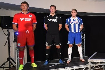 Wigan Athletic 2015 2016 Kappa Home, Away and Third Football Kit, Soccer Jersey, Shirt