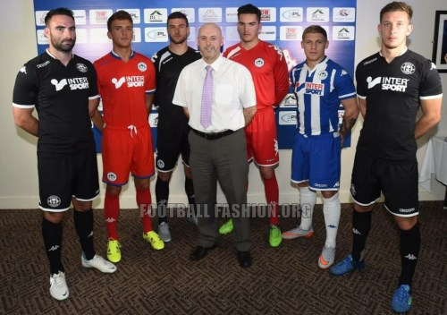 Wigan Athletic 2015 2016 Kappa Home, Away and Third Football Kit, Soccer Jersey, Shirt
