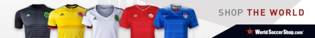 World Soccer Shop 2015 Women's World Cup Jerseys