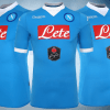 SSC Napoli 2015 2016 Blue Kappa Home Football Kit, Soccer Jersey, Maglia, Gara