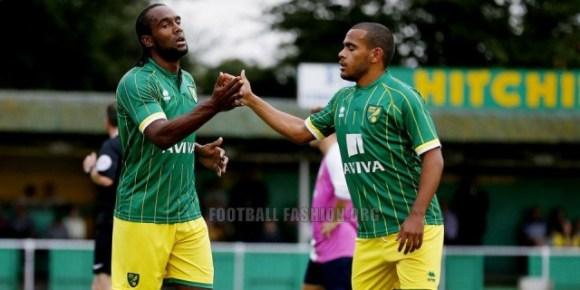 Norwich City Football Club 2015 2016 Errea Away Kit, Shirt, Jersey